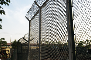 ​Galvanized Chain Link Fence